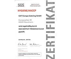 Fresenius-Zertifikat